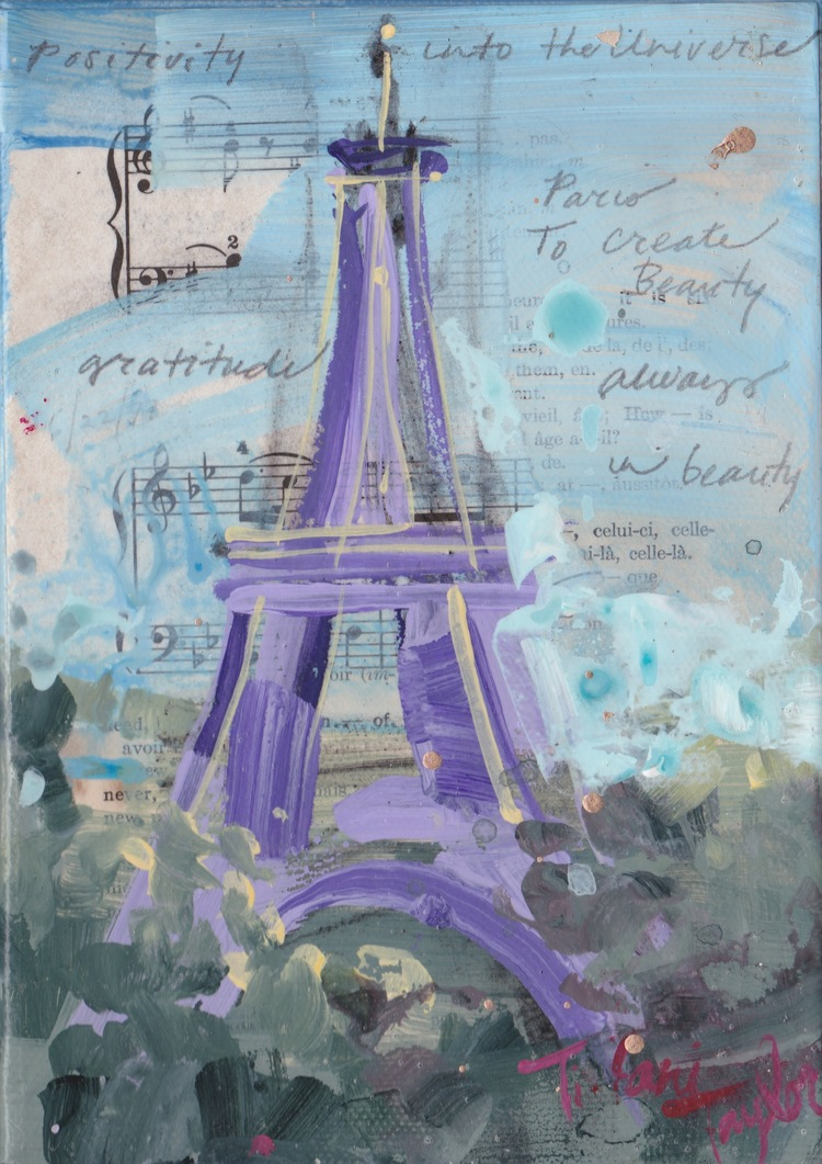 Eiffel Tower: Positivity into the Universe… Gratitude, Always in Beauty