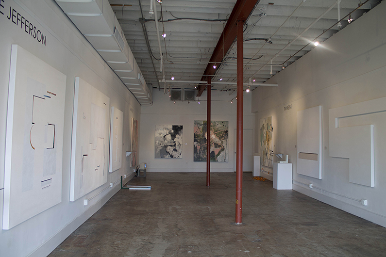Recent Exhibition by Mirielle Jefferson