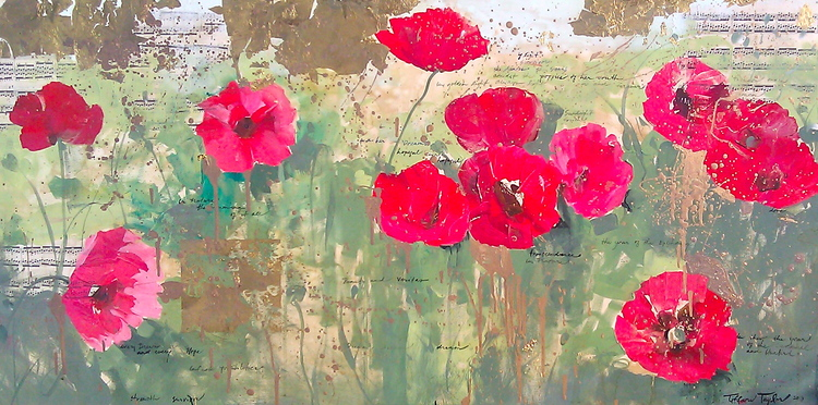 Red Poppies: In Sunlight
