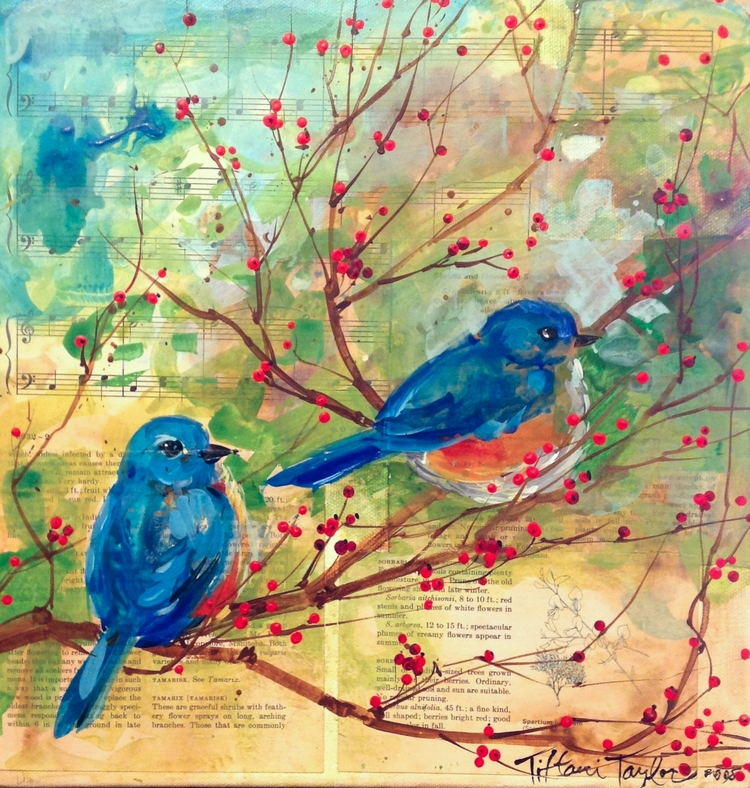 Bluebirds:  Love