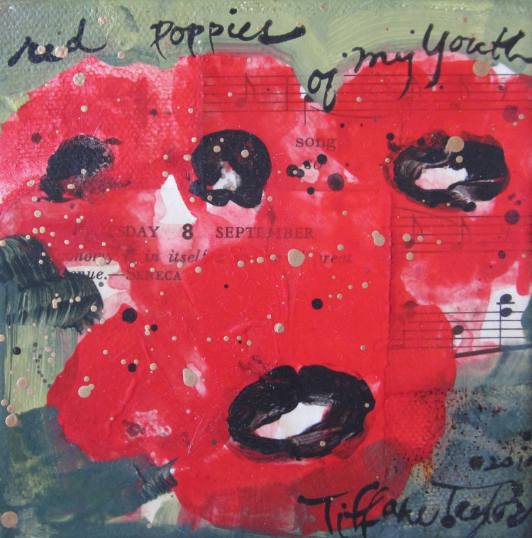 Dream:  Red Poppies of My Youth