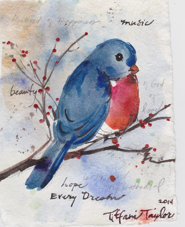 Bluebird of Happiness:  Of Music, of God of love...