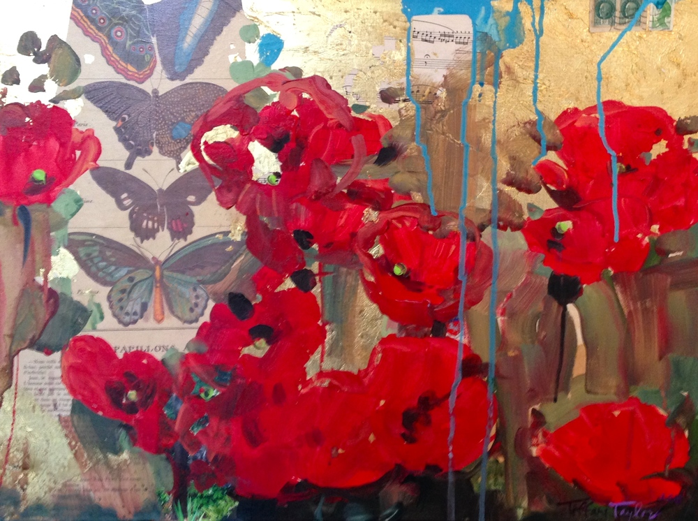 Poppies:  Divinity and Butterflies...