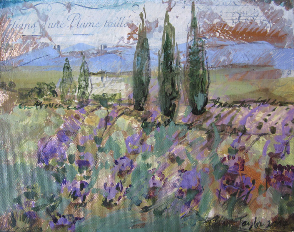 Italian Manuscripts, Lavender Field...