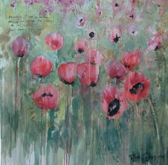 Poppies:  Red Flames