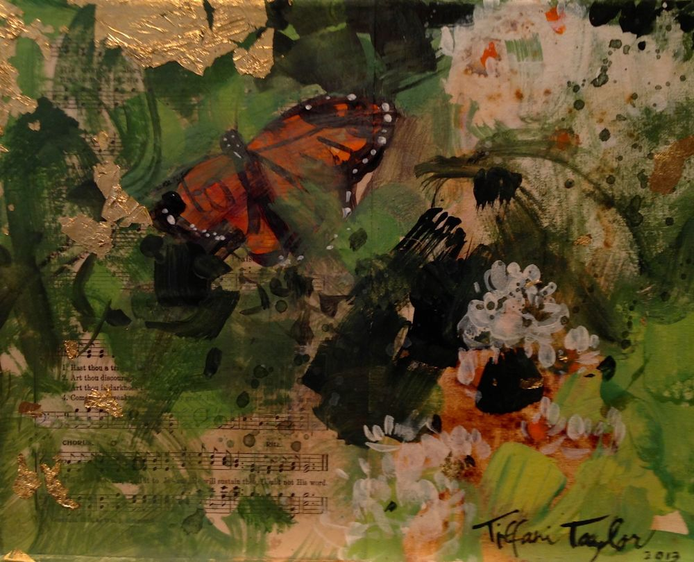 Expressionistic Butterfly, Hymns
