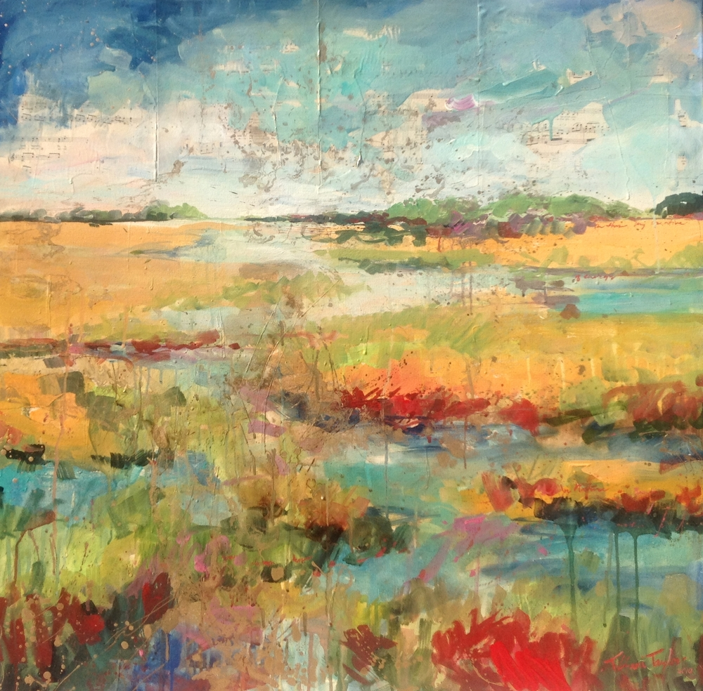 Expressionistic Marsh II