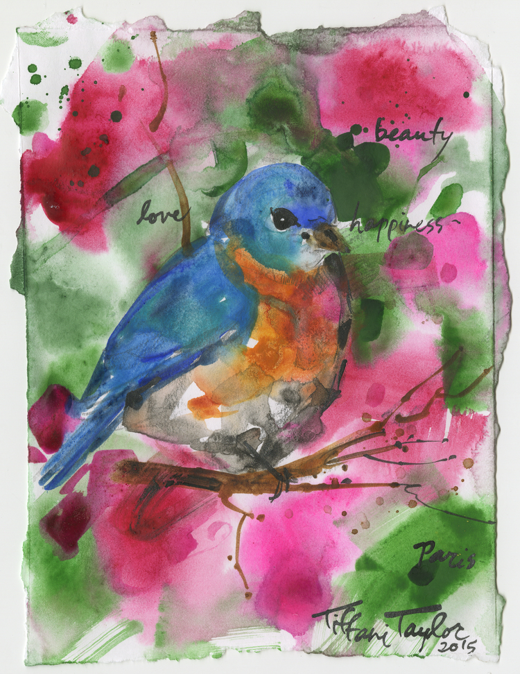 Bluebird:  Love, Beauty, and Happiness...