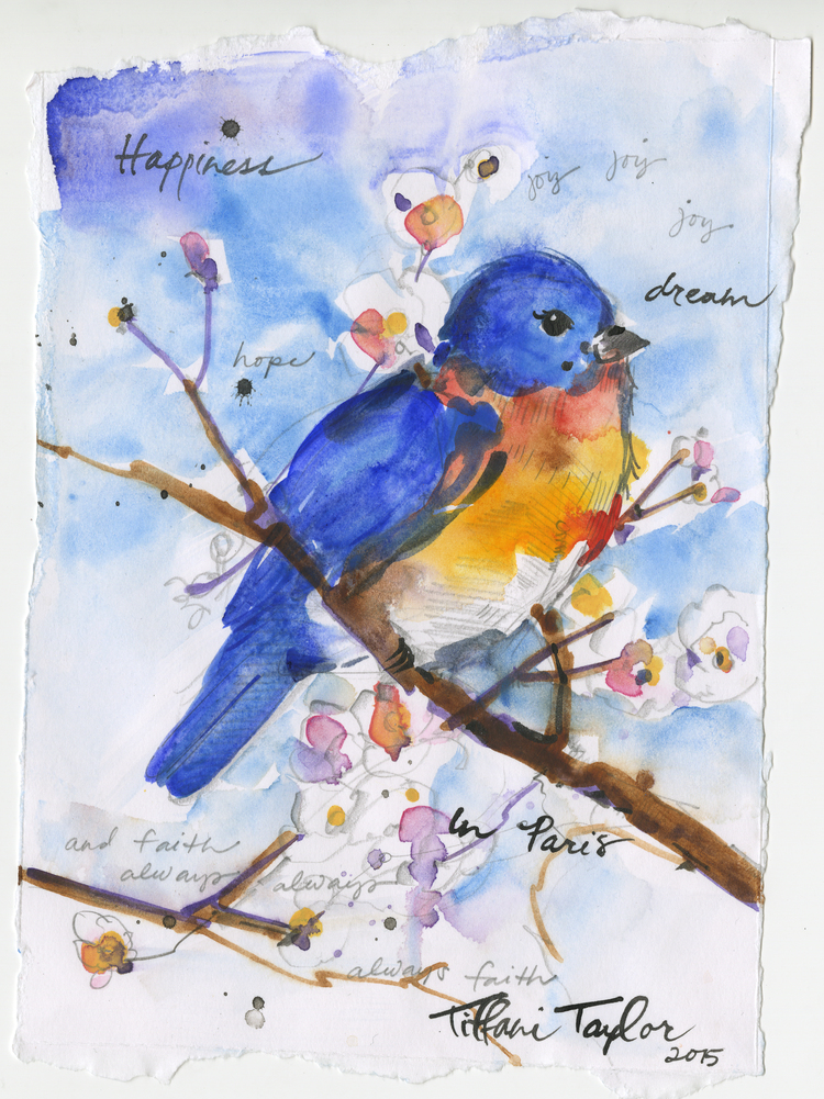 Bluebird:  Happiness, Dream...