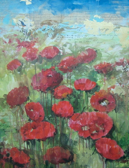 Red Poppies: Hope