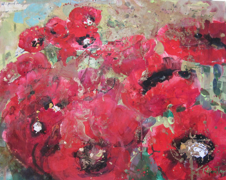 Red Poppies: In your Blooms...