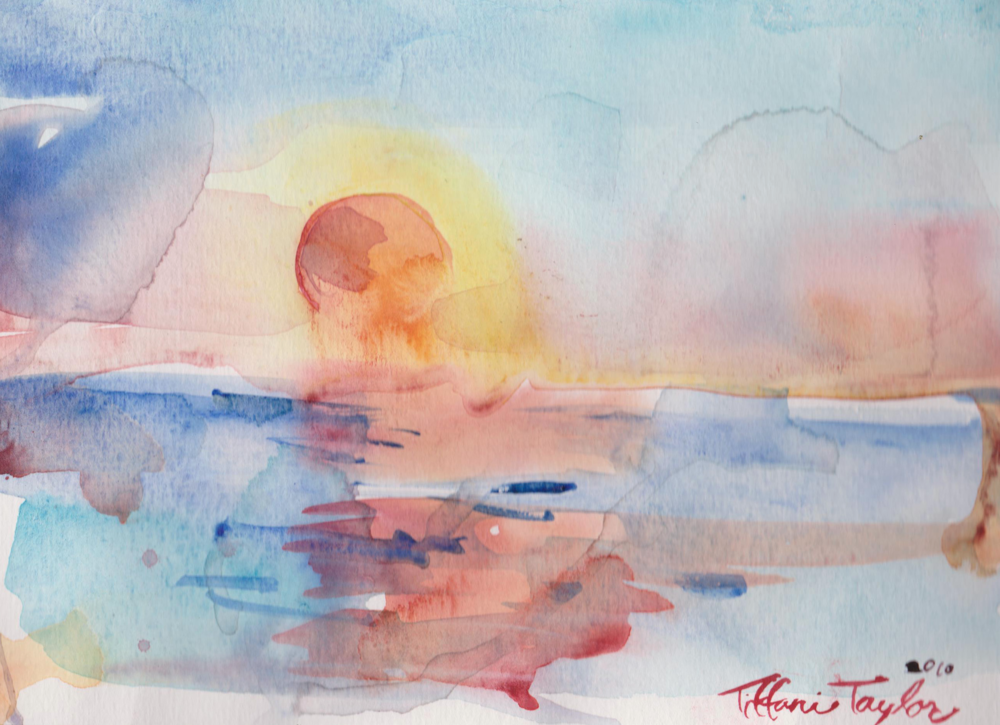Expressionistic Sunrise