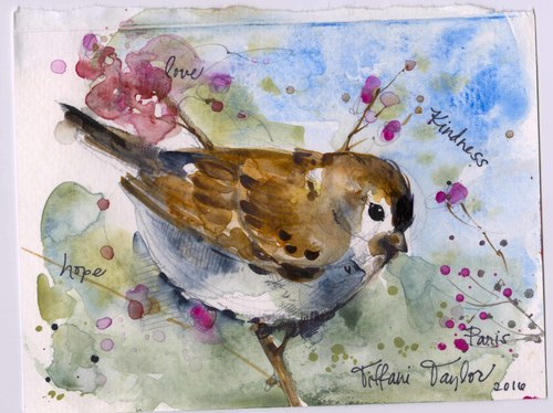Sparrow: Love, Kindness, Hope...