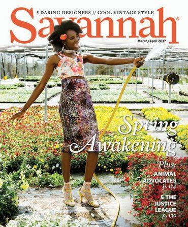 Savannah Magazine  April 2017
