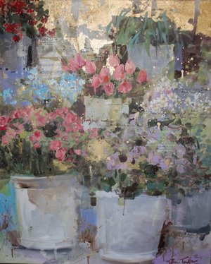 Paris Flower Market: All of the Magic and Beauty 31x37