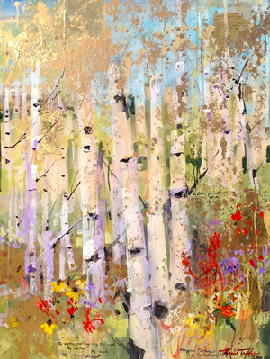 Spring, Nature: My Cathedral 30x40