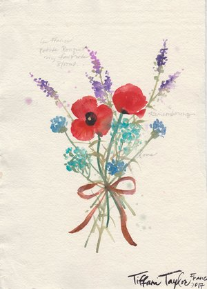 Petite Bouquet: Remembrance... 8.5x11.5