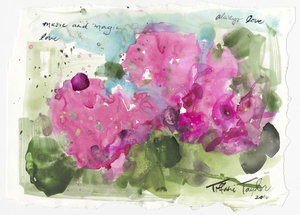 Hydrangeas: Music and Magic 11.5x7.5