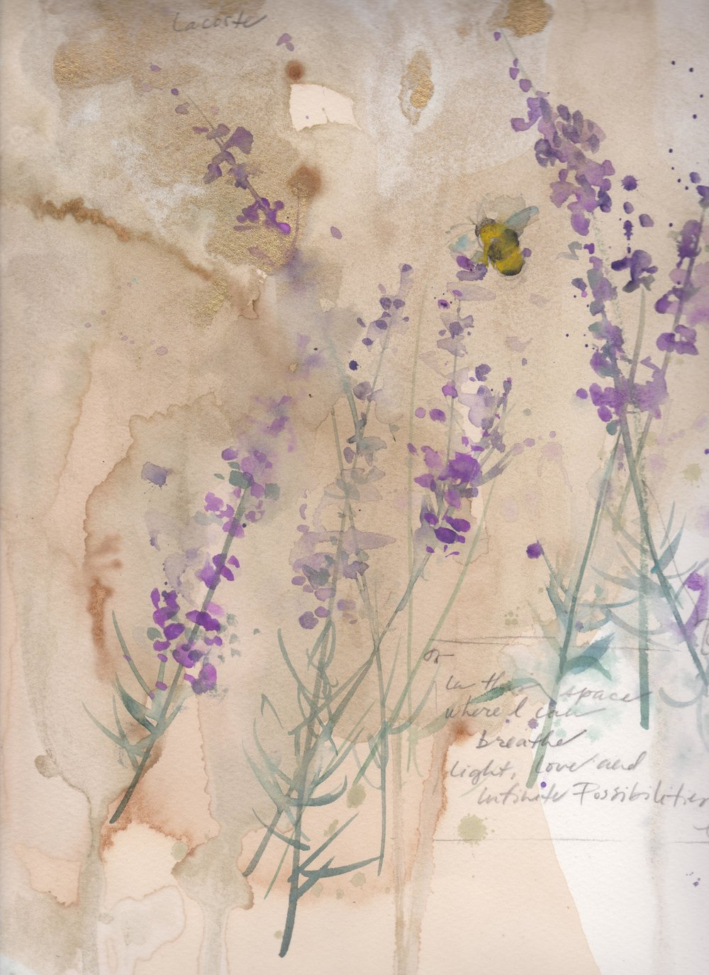 Lavender and Bee: Infinite Possibilities...