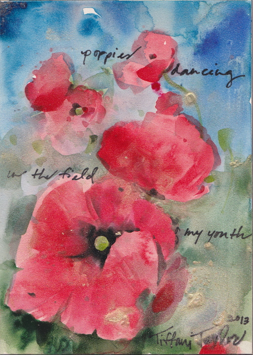 Poppies Dancing in the Field
