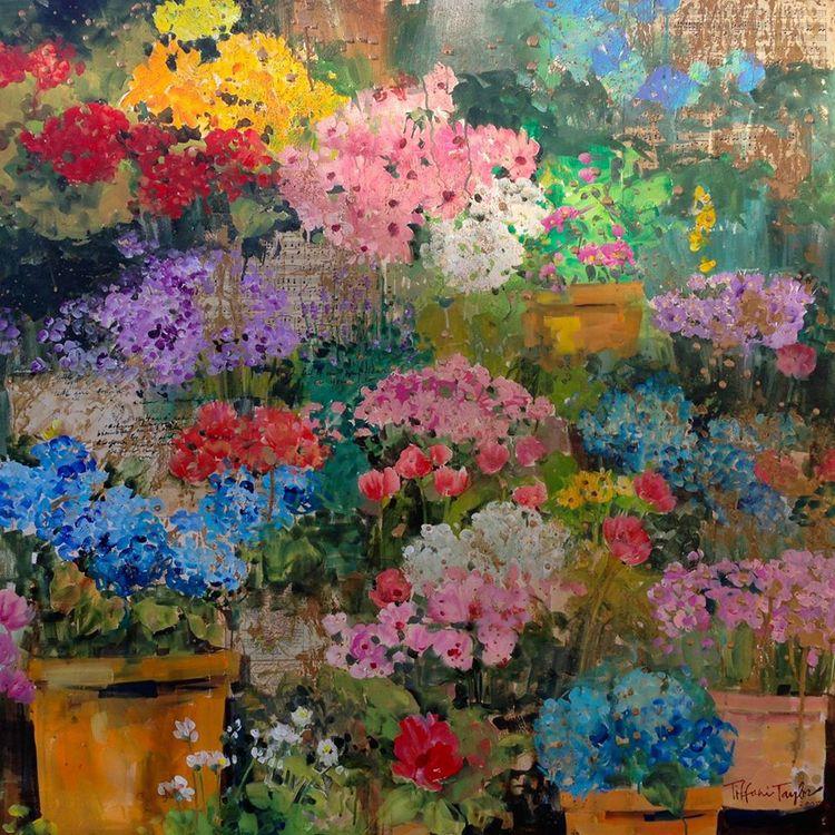 Flower Market: I Feel It In My Heart As You Do...