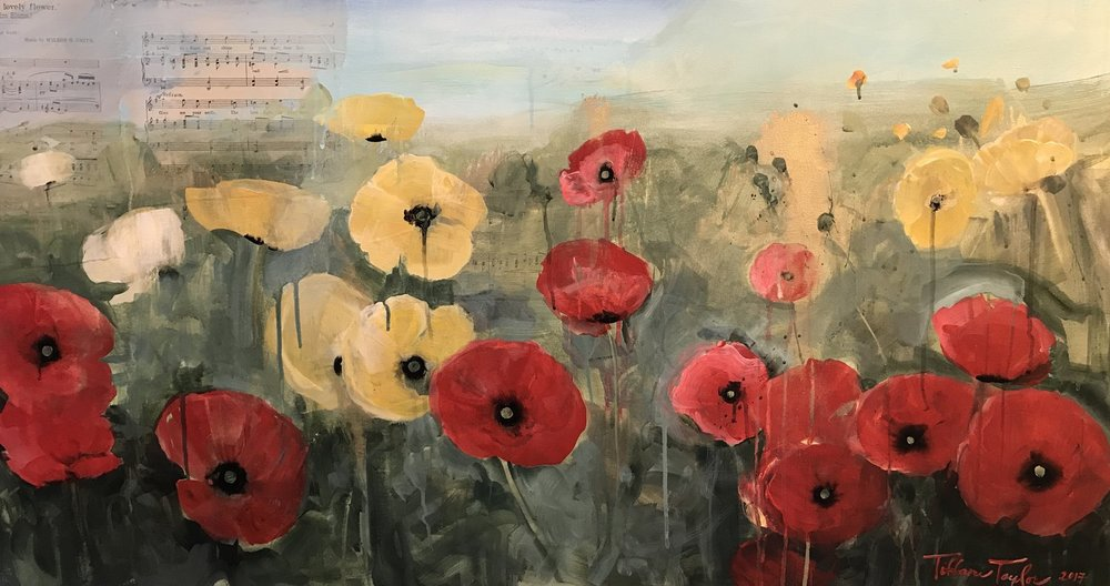 Poppies in Paris
