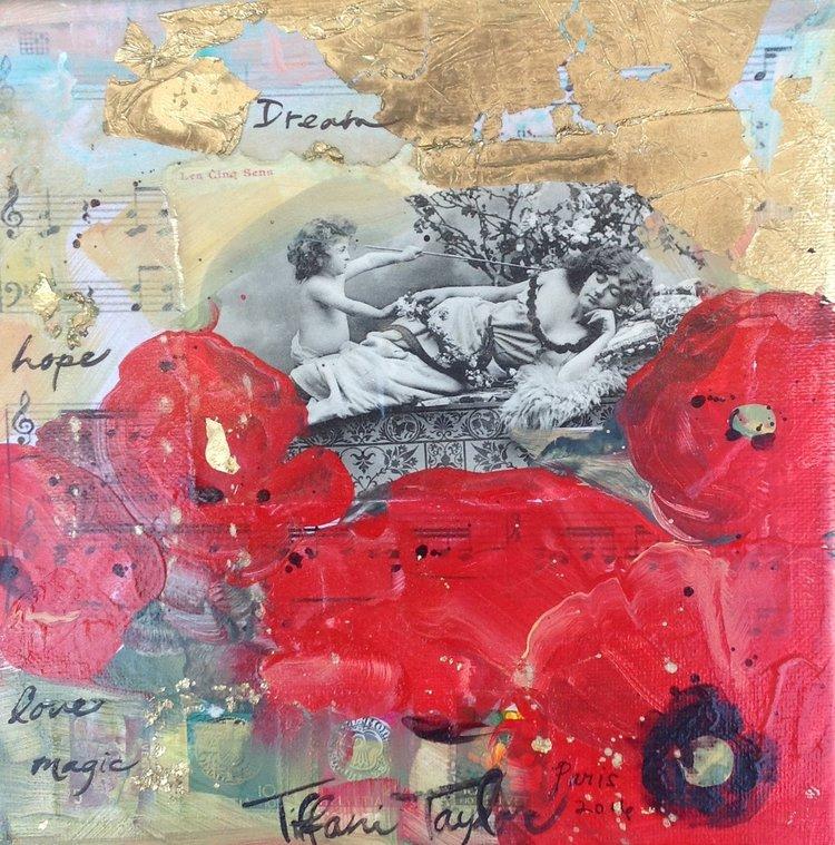 Red Poppies: Paris, Dream...