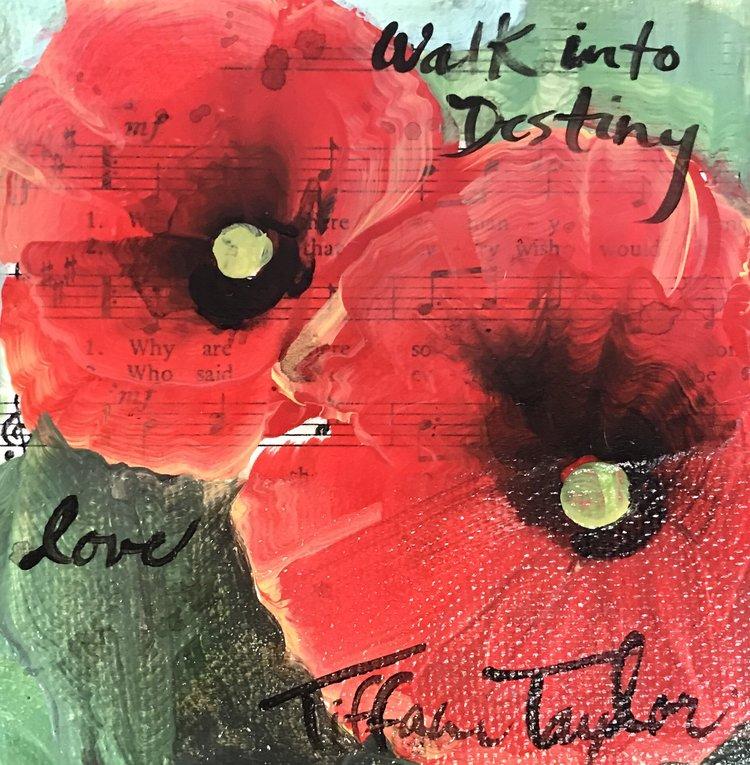 Poppies: Walk into Destiny, Love...