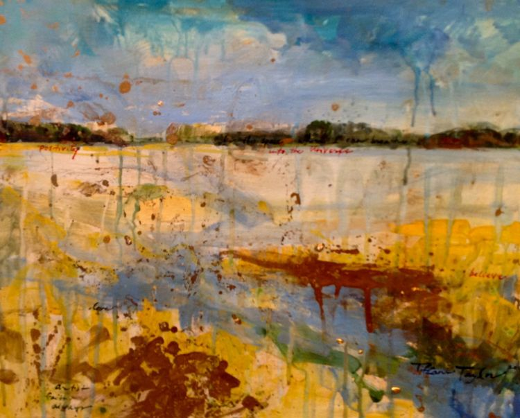 Expressionistic Savannah Marsh: Positivity into the Universe