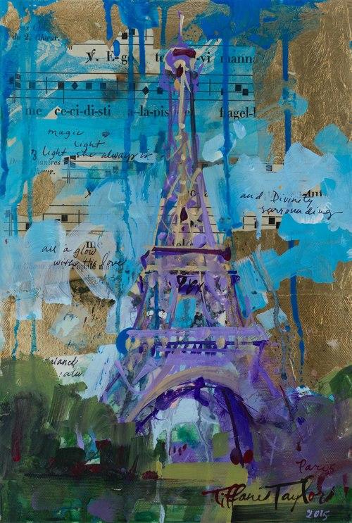 Expressionistic Eiffel Tower