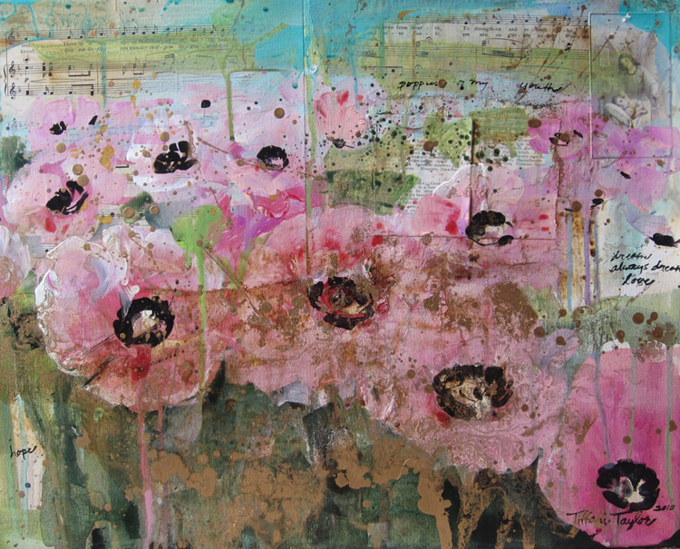 Pink Poppies of My Youth