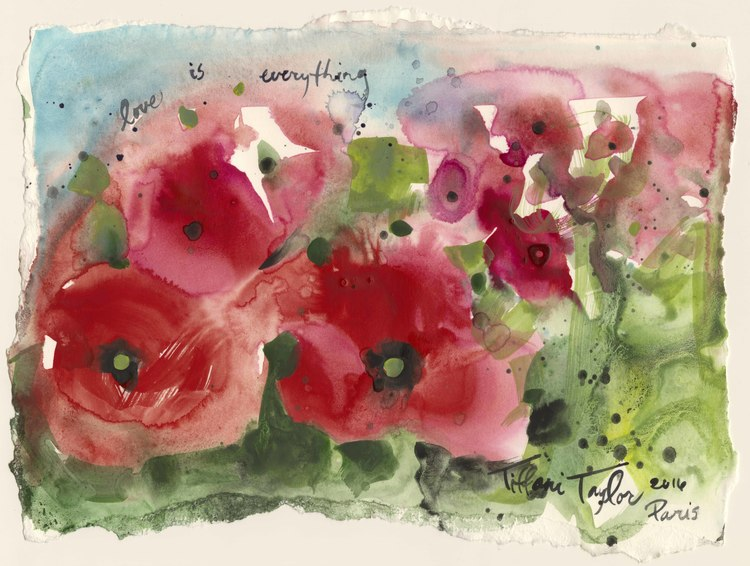 Poppies in the Field: Love is Everything...
