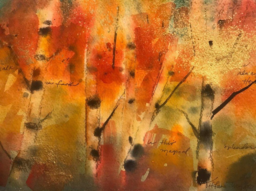Autumnal Beauty: I Walk in Faith