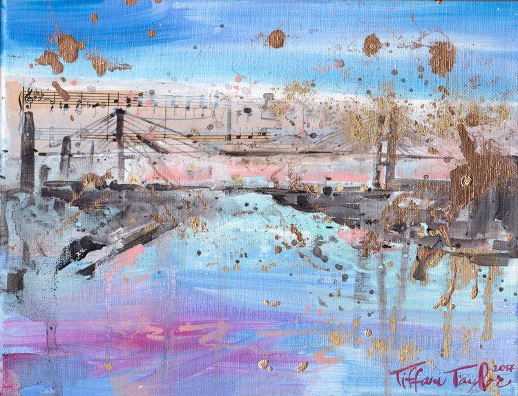 Talmadge Bridge: Magic Hour in Savannah...