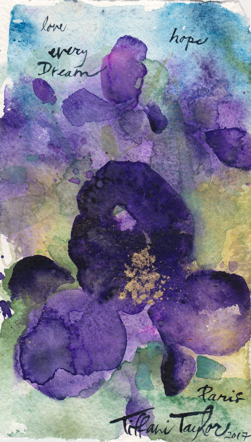 Irises: Love, Dreams, Every Hope...
