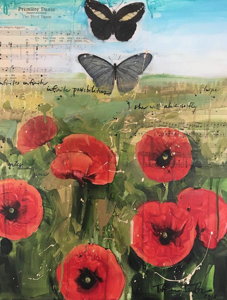 Butterflies & Poppies: Infinite Possibilities...