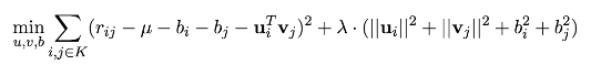 AMMI + regularization model