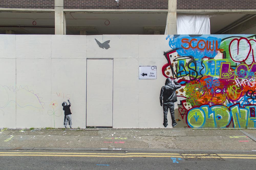 London, UK, 2014 (detail shot)  Thanks to  GlobalStreetArt   detail shots:  1  2  3