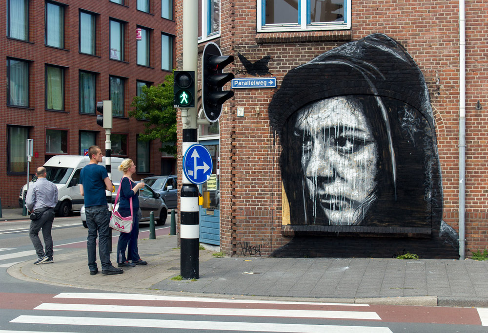 Den Haag, Netherlands, 2015  Many thanks to  StraatExpo
