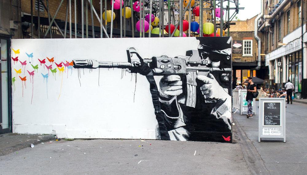 London, UK, 2015  many thanks to  GraffitiStreet