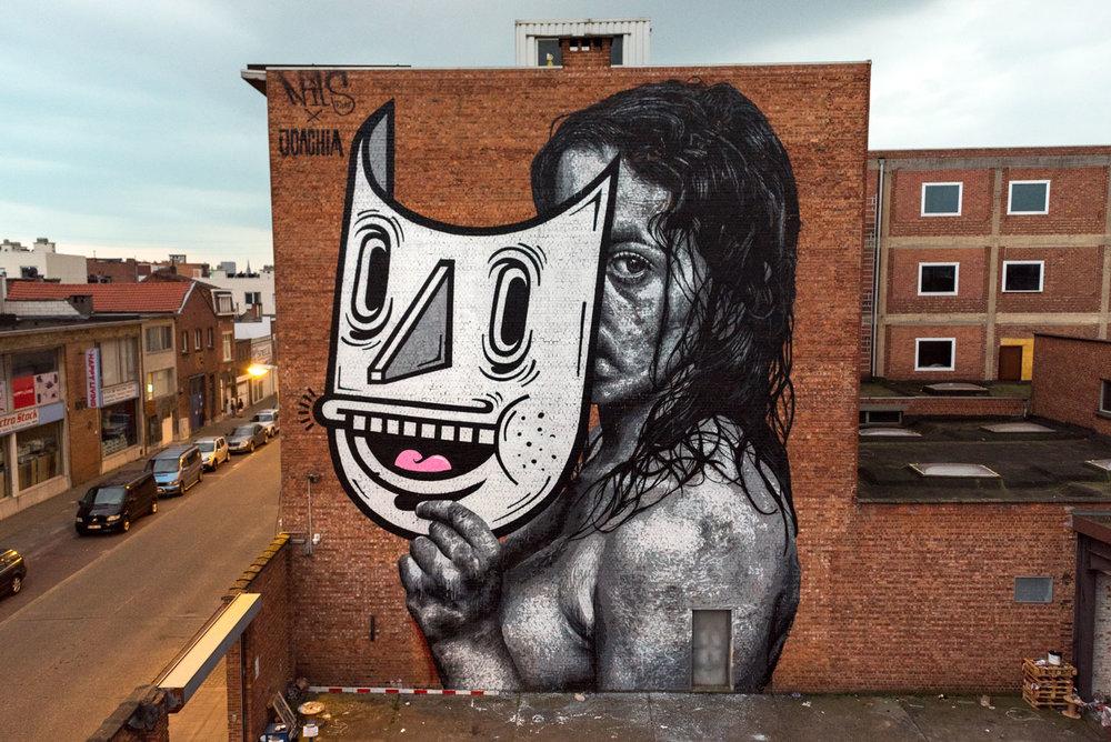 Antwerp, Belgium, 2017, w/  Joachim   huge thanks to  Street Art Antwerp