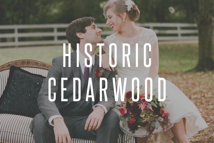 Exquisite Cedarwood Wedding - Nashville Wedding Photographer