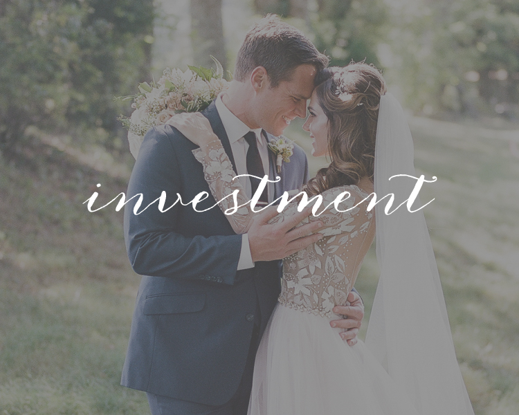 Nashville Wedding Photography Pricing
