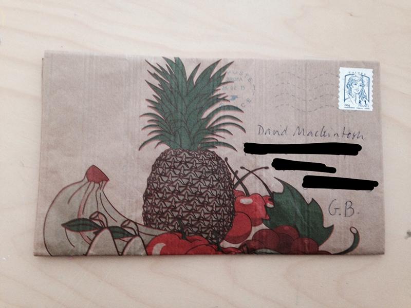 pineapple correspondence