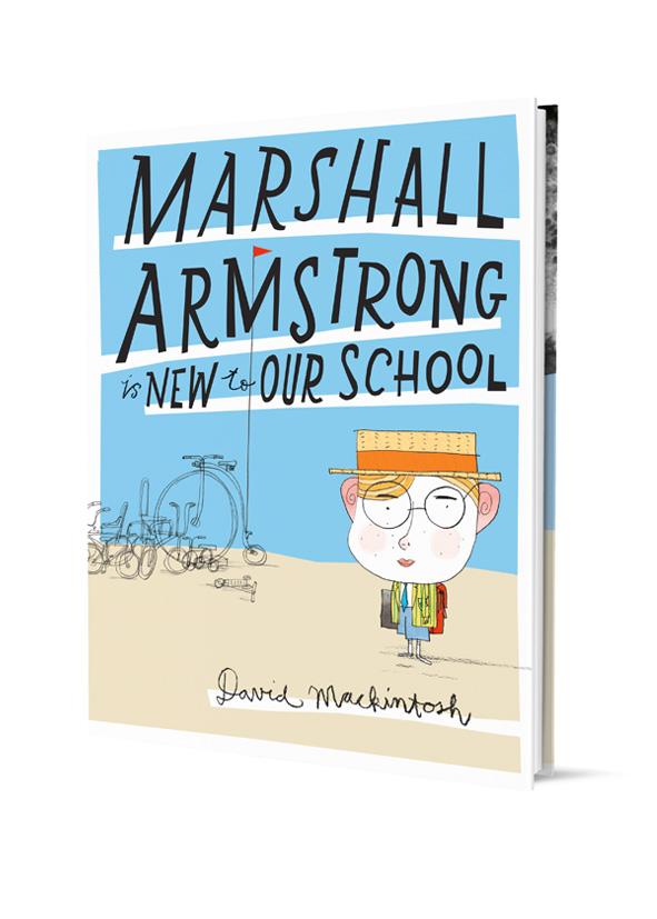 marshall armstrong hardback jacket