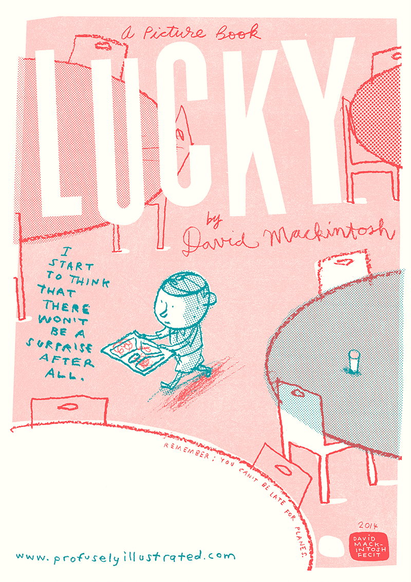 lucky screen print by david mackintosh