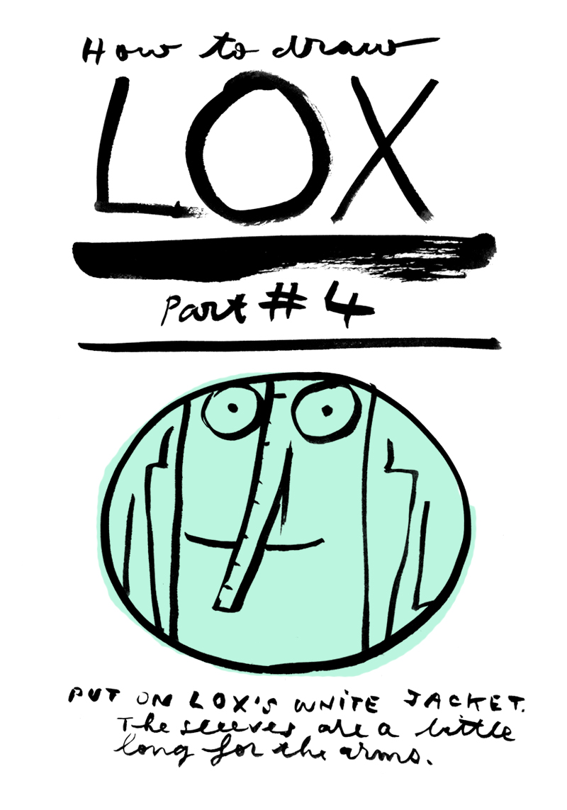 draw LOX by david mackintosh