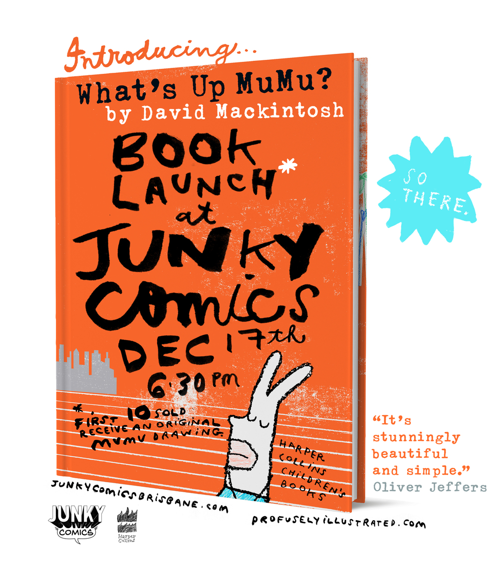 what's up mumu book launch