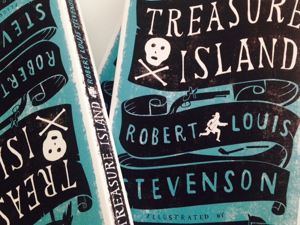 Treasure Island by RL Stevenson