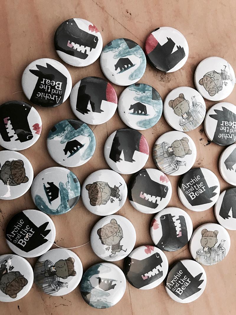 archie bear badges mackintosh
